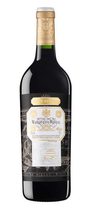 Marqués de Riscal tinto Gran Reserva 2012