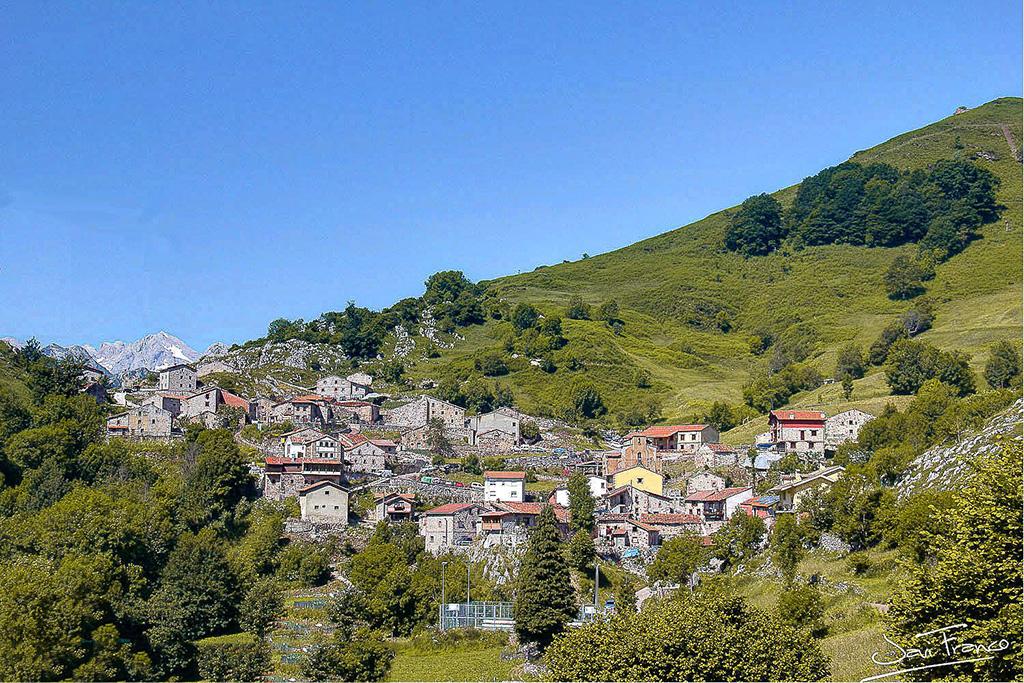 Municipio de Tresviso en la comarca de Liébana (Cantabria)